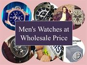 Men's Watches at Wholesale Price