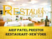Arif Patel / Abdullah Allad Restaurant - New York