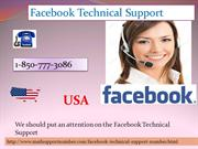 Facebook Technical Support 1-850-777-3086: Unbeatable Services Given