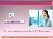 Can I Communicate With Facebook Technical Support 1-850-777-3086 Team?