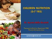 Children Nutrition