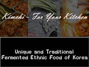 Kimchi - For Your Kitchen