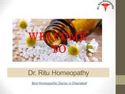 Dr Ritu Homeopathy - Best Homeopathic Doctor in Ghaziabad