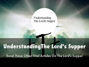 The Lord's Supper Presentation