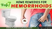 TOP-7 HOME REMEDIES FOR PILES