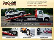 Quality Towing Services Vancouver - Jim's Towing Vancouver