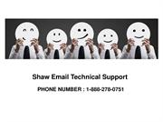 shaw email technical support phone number