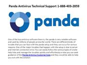 Panda Antivirus Technical Support