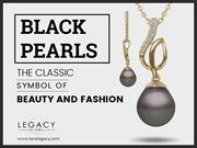 Black Pearl Earrings and Necklaces – Beautiful Style Statement