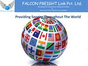 Falcon Freight custom clearance ,freight forwarding company in India