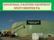Industrial painting equipment west chester pa