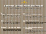 Creating a Cowboy Themed Room for Kids