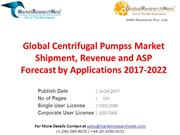 Global Centrifugal Pumpss Market Shipment, Revenue and ASP Forecast by