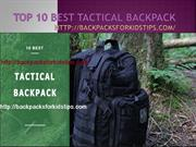 10 Best Tactical BAckpack