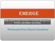 Understanding Wholesale Formula | Wholesale Price Calculator