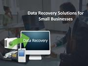Data Recovery Solutions for Small Businesses