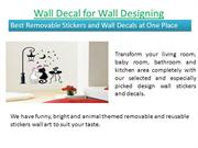 Wall Decal for Wall Designing