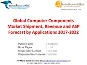 Global Computer Components Market Shipment, Revenue and ASP Forecast b