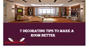7 Decorating Tips to Make a Room Better