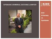 Spokane Criminal Defense Lawyer