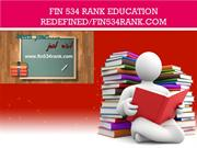 FIN 534 RANK Education Redefined/fin534rank.com