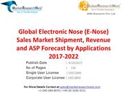 Global Electronic Nose (E-Nose) Sales Market Shipment, Revenue and ASP
