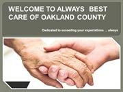 Always Best Care of Oakland County