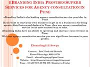 6.eBranding India Provides Superb Services for Agency consultation in
