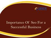 Importance Of Seo For a Successful Business
