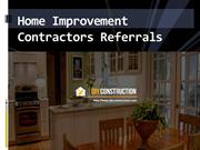 Home Improvement Contractors Referrals