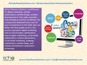 Reviews About Richa Software Solutions