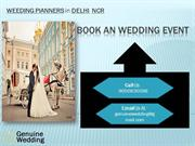 Wedding Planners in Delhi NCR | Genuine Wedding