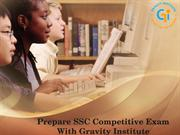 Prepare SSC Competitive Exam With Gravity Institute