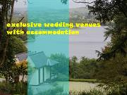 exclusive wedding venue
