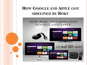 How Google and Apple got sidelined by Roku