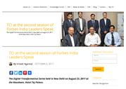 TCI at the second season of Forbes India Leaders Speak