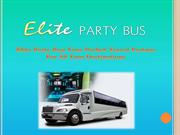 Elite Party Bus: Your Perfect Travel Partner For All Your Destinations