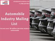 Automobile Industry Mailing List | Auto Dealers Email List
