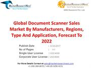 Global Document Scanner Sales Market By Manufacturers, Regions, Type A
