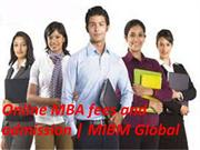Distinctive online MBA courses Executive mba colleges in India