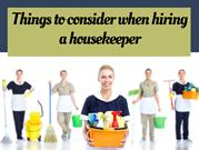 Top Notch House Keeping Services in Florida