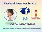 Learn about some Facebook tips via Facebook Customer Service 1-850-777