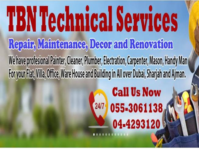 TBN Technical Services Dubai Building Maintenance And Handy
