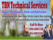 TBN Technical Services Dubai Building Maintenance and Handy Man