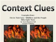 Context Clues - Wildfires