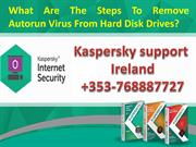 What Are The Steps To Remove Autorun Virus From Hard Disk Drives