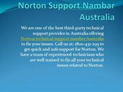Norton Technical Support Number Australia 1800-431-295