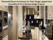 Buying Best Quality Thermofoil Kitchen Cabinet Doors