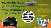 Cheap Party Buses DC
