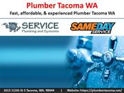 Tacoma Plumbing Company | Tacoma Plumbing Contractor